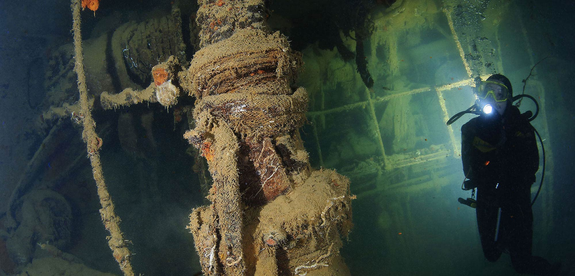 WORLD WAR II WRECKS GALORE